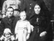 <p>Seated, L-R:  Johannes Marte; his wife Julianna nee Ziebart.  <br />
